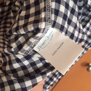 Draper James Dresses - Draper James Belted Gingham shirtdress